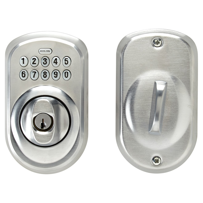 Keypad Deadbolt Plymouth - Satin Chrome