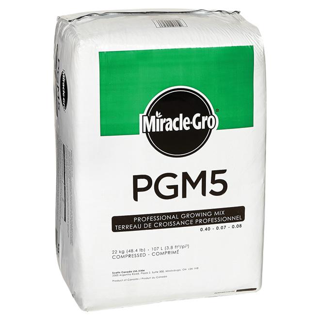 Terreau de croissance tout usage « PGM5 », 22 kg