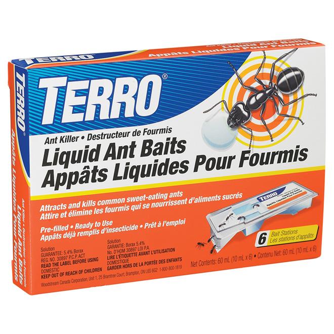 Appât liquide pour fourmis - Paquet de 6