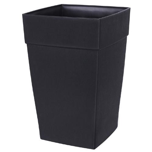 DCN Harmony Elongated Planter - Resin - 24-in - Black
