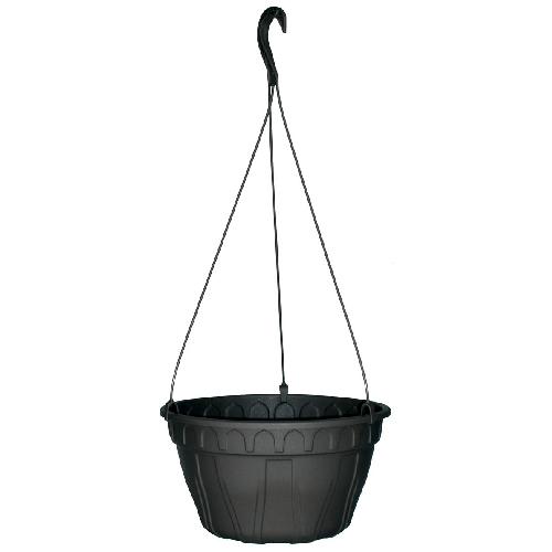 Jardinière suspendue «Azura» Noir