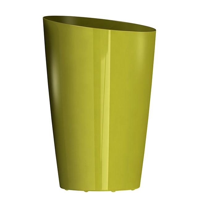 DCN Mirage Elongated Planter - Plastic - Glossy Avocado - 9-in Diameter