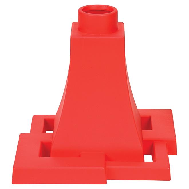 """Quattro"" Planter Base - Red"