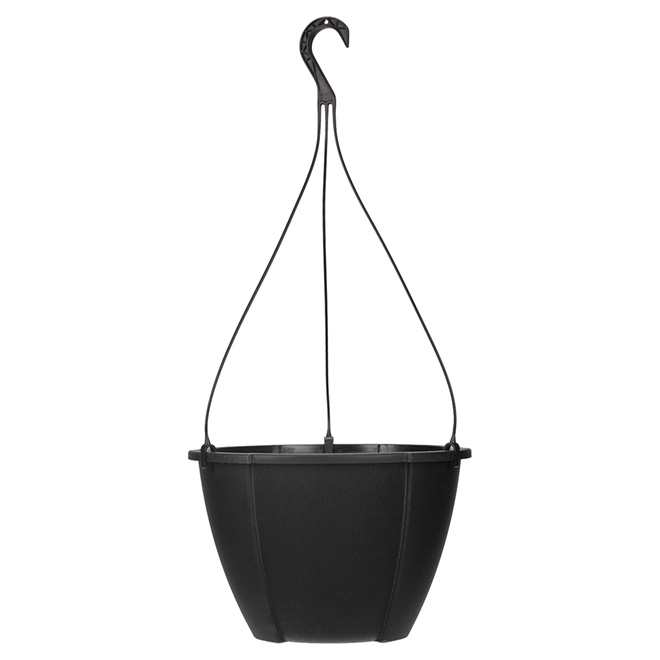 """Quattro"" Hanging Planter - Black"