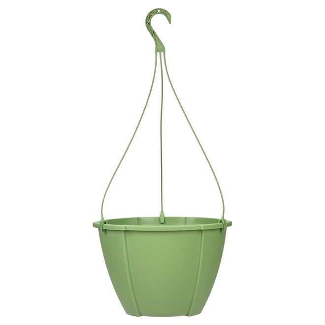 """Quattro"" Hanging Planter - Green"
