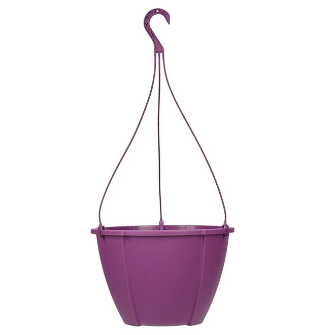 """""""Quattro"""" Hanging Planter - Purple"""