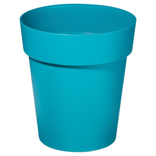 """Planter Pot - Viva - 13"""" - Flat Blue"""