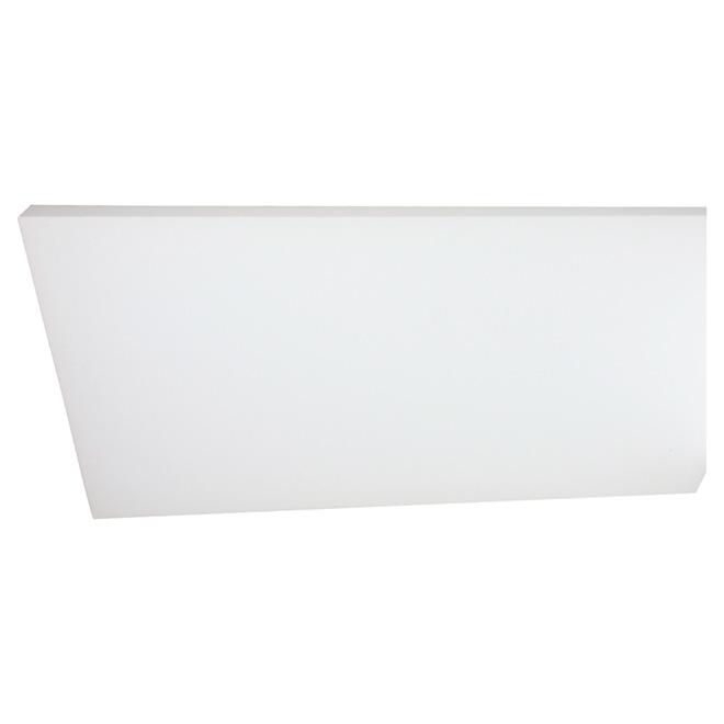 """Panneau isolant PSE de Type I, 3/4"""" x 4' x 8', blanc"""