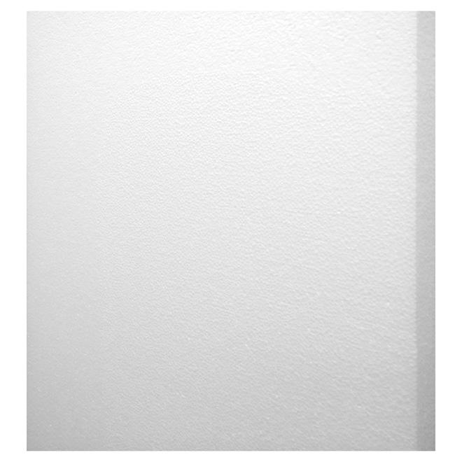 """Panneau isolant PSE de Type II, 2"""" x 4' x 8', blanc"""