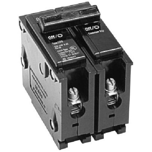 120/240 VAC 15 A BR Circuit Breaker 2 Poles Plug-In
