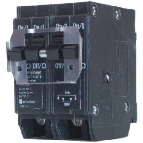 Disjoncteur DNPL enfichable 120/140 VAC 20 A 2-2 pôles