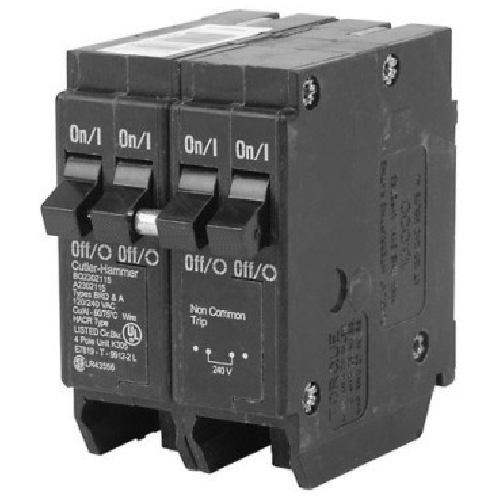 120 VAC 120/240 VAC 120 VAC 15-15-15 A DNPL Circuit Breaker