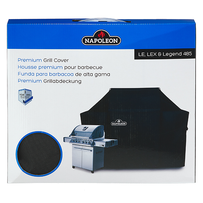 Napoleon Barbecue Cover - Polyester - Grey