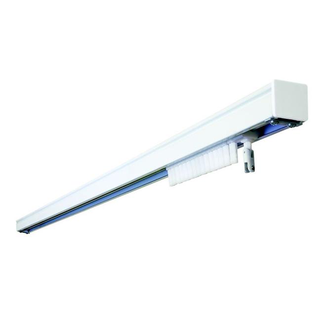 "Cordless Vertical Blinds Headrail - 66"" - White"
