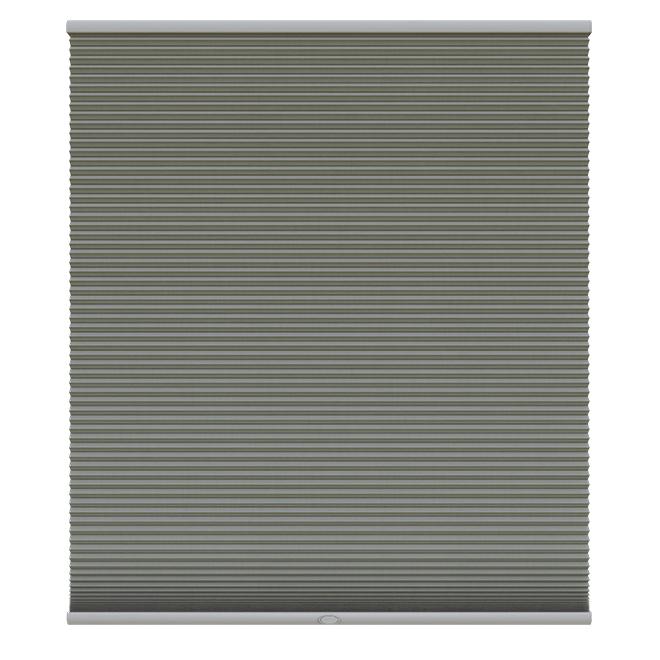 """Store alvéolé opaque sans cordon, 30"""" x 72"""", graphite"""