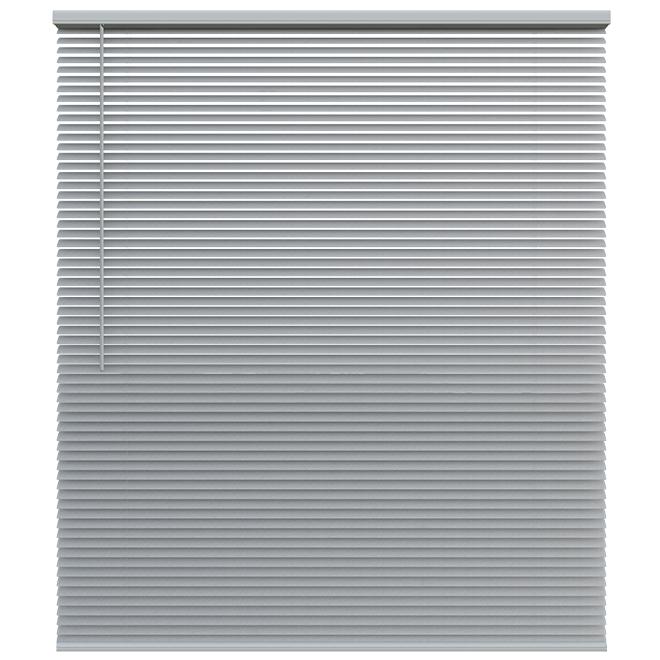 "Cordless Blind - Aluminum - 35 X 72 X 1"" - Nickel"