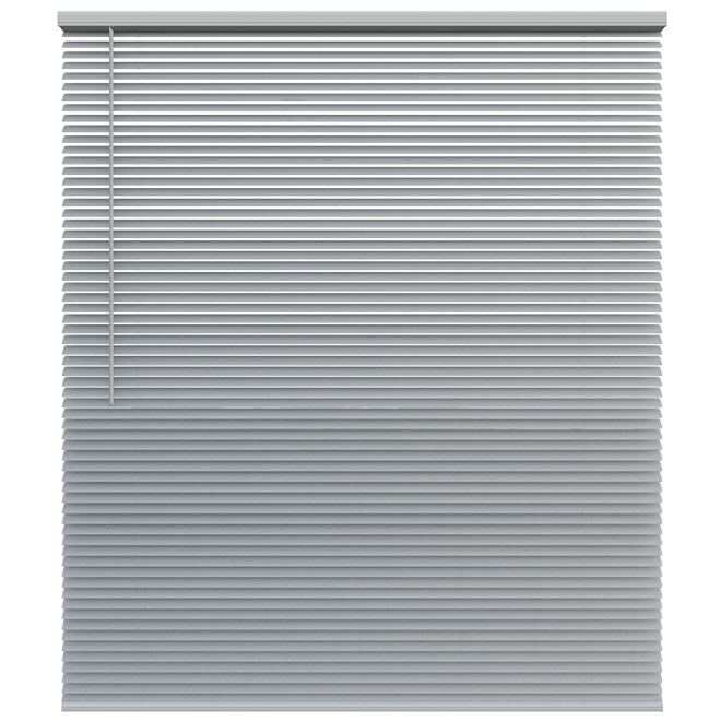 "Cordless Blind - Aluminum - 39 X 72 X 1"" - Nickel"