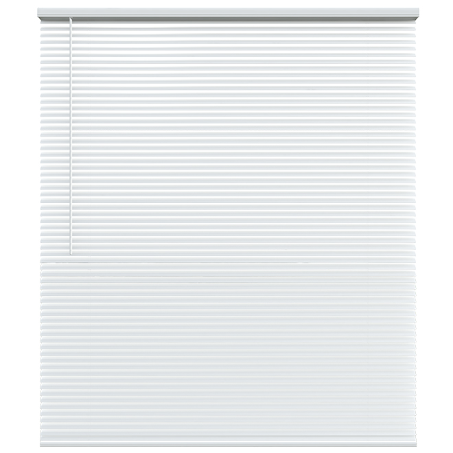 "Cordless Blind - Aluminum - 35 X 72 X 1"" - White"