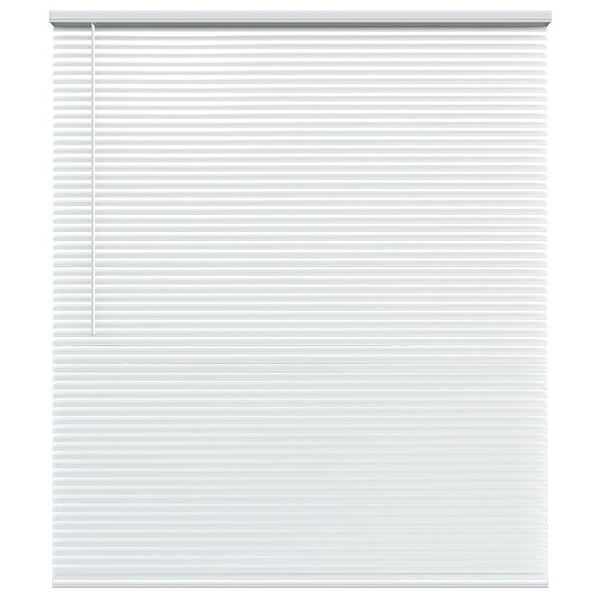 "Cordless Blind - Aluminum - 66 X 72 X 1"" - White"