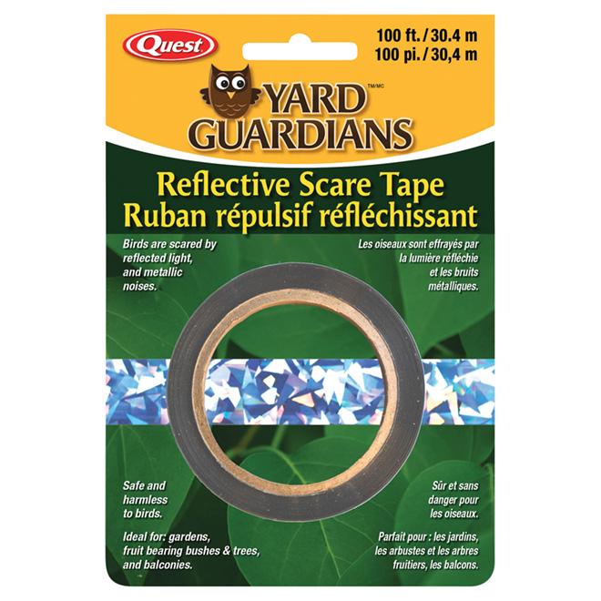 Yard Guardians Bird Repellent Reflective Tape - 100'