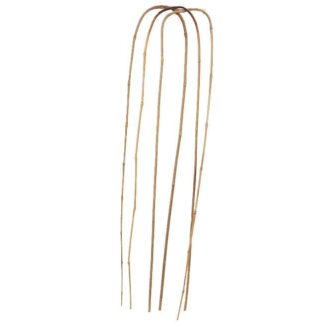 Tuteurs en arche, 4', bambou, naturel, paquet de 3