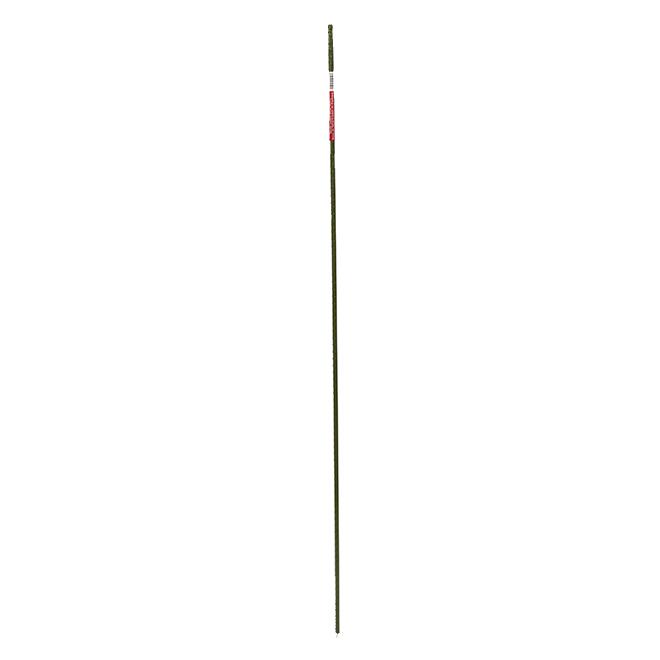 Tuteur en métal plastifié, 4', vert