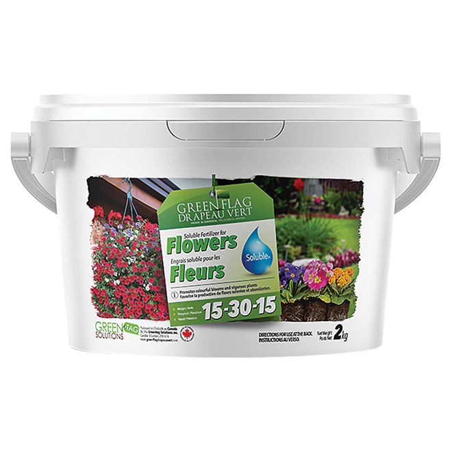 Flowering Plant Water Soluble Fertilizer 15 -30-15 - 2 kg