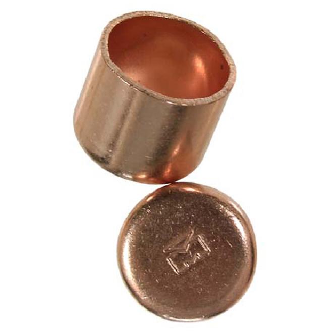 1 1/4-in Copper cap
