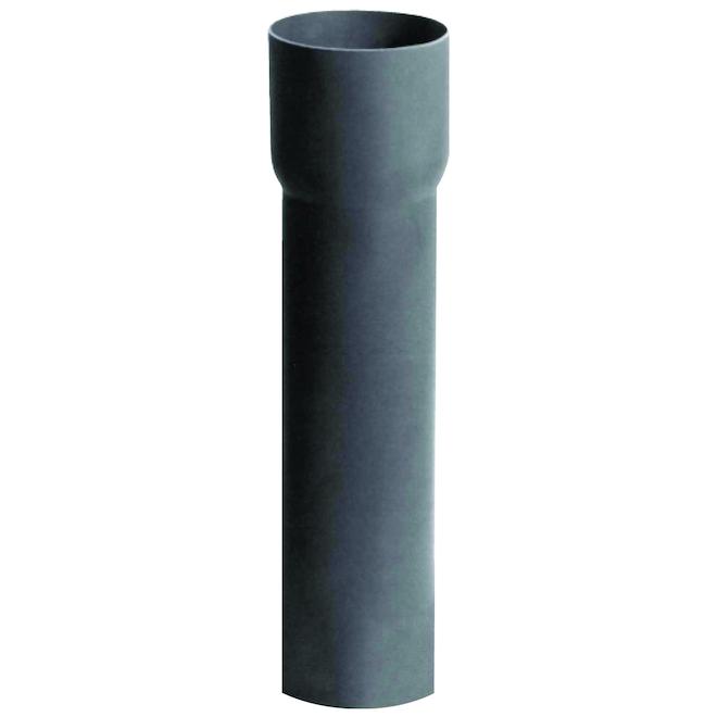 Conduit électrique Carlon Schedule 40 non-métallique en PVC gris, 1,25 po x 10 pi