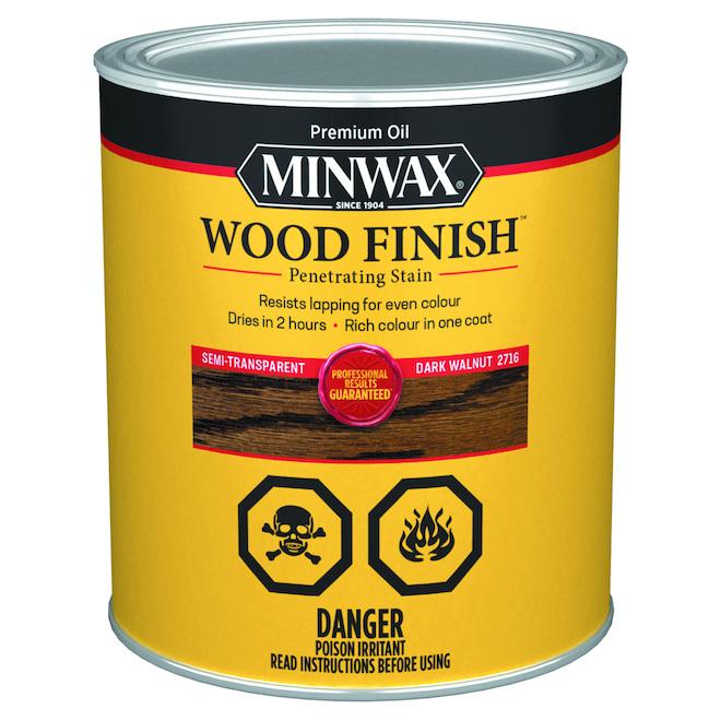 Interior Wood Stain - Dark Walnut