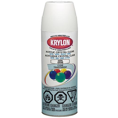 """Acrylic Crystal Clear"" Indoor/Outdoor Spray Paint"