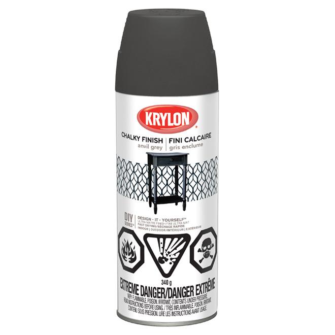 Aerosol Paint - Chalky Finish - Anvil Grey