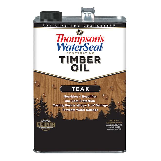 Penetrating Timber Oil - Teak - 3.78 L