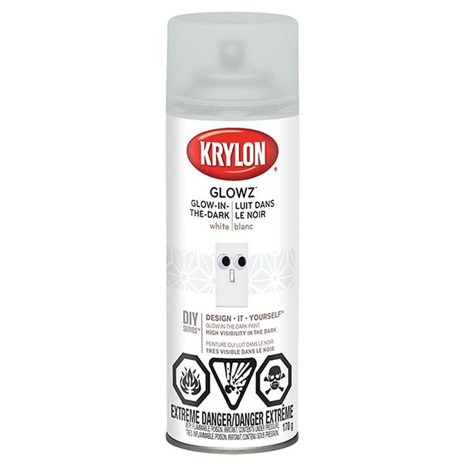 Glow-in-the-Dark Spray Paint - 170 g - White