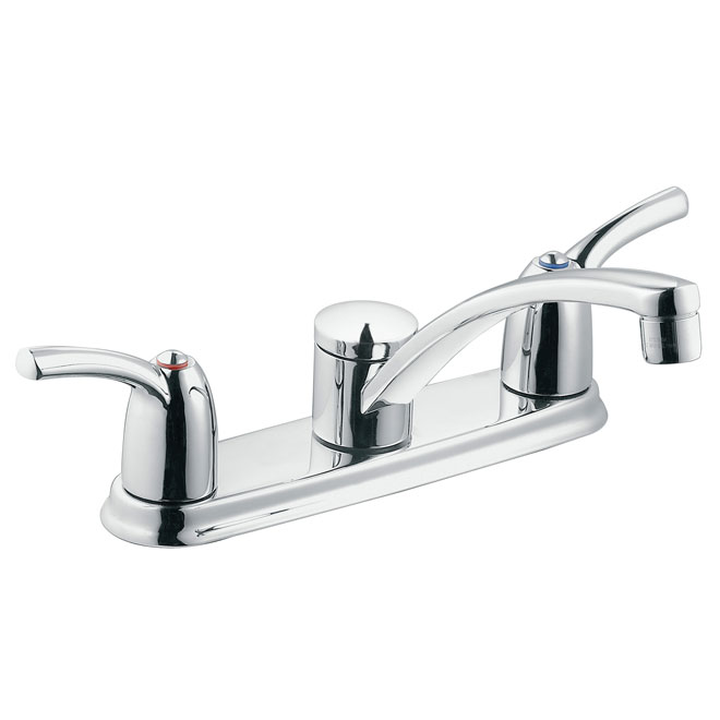 Moen Adler 2 Handle Kitchen Faucet 87412 Reno Depot