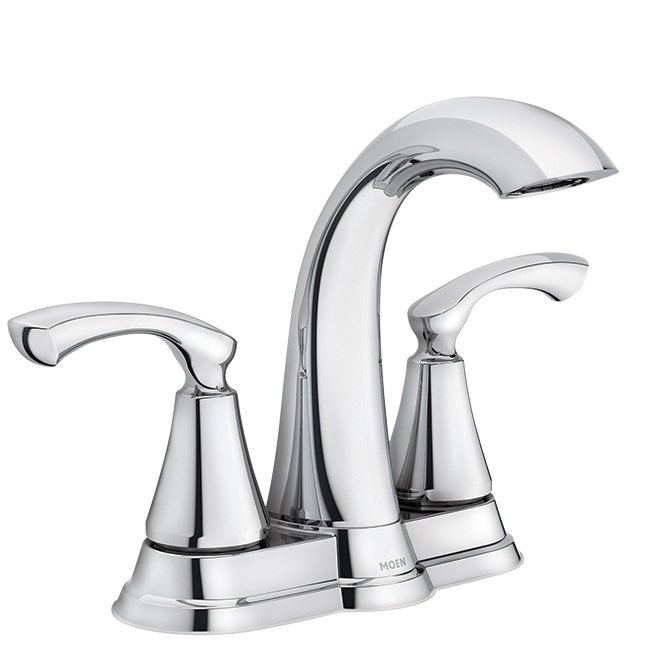 Moen(R) 2-Handle Lavatory Faucet - Tiffin - Chrome