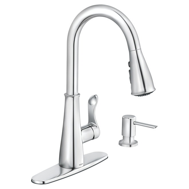Hadley Pull-Down Kitchen Faucet - Chrome