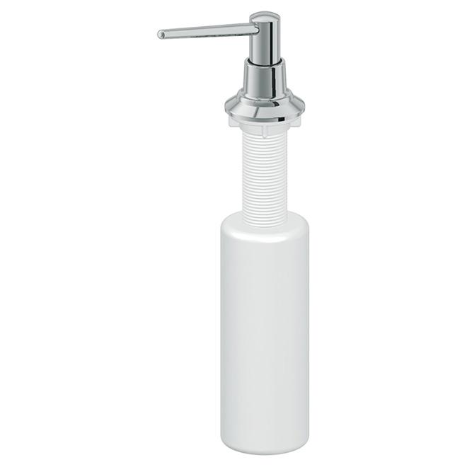 Distributeur à savon, chrome