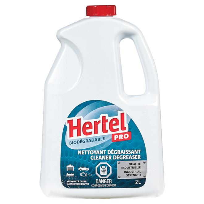 Nettoyant dégraissant Hertel PRO, 2 l
