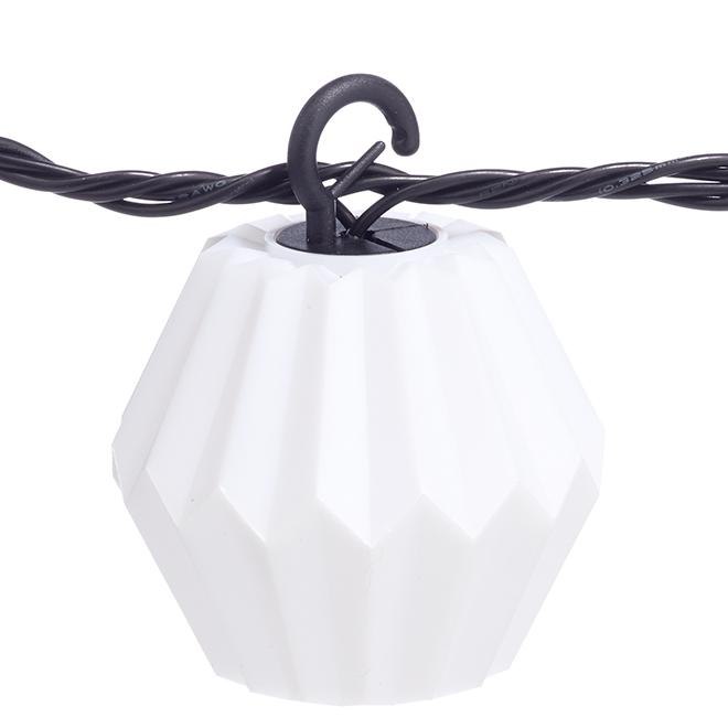 String Lights - 10 Lights - White Origami