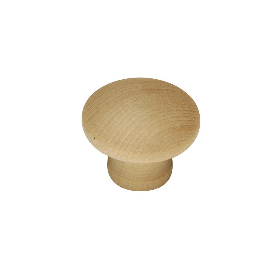 Richelieu Maple Cabinet Knob - 1 1/8-in - 2-Pack