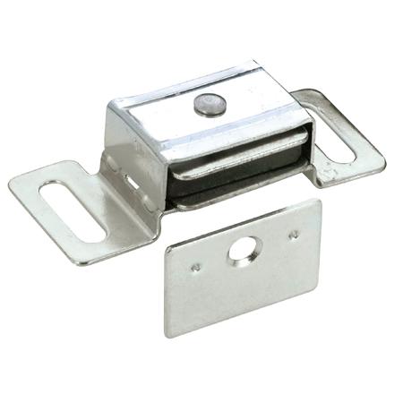 Loquet magnétique simple, aluminium, 1/pq