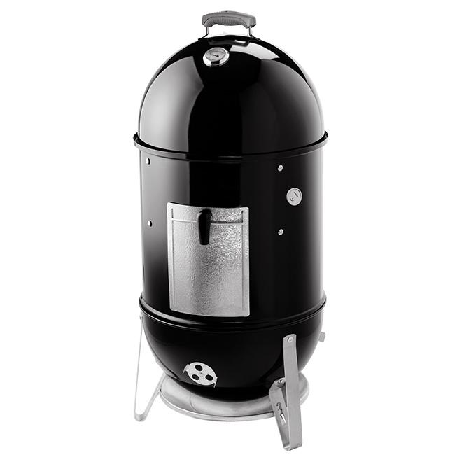 Weber Smokey Mount Smoker - Porcelain Enamel - 481-sq. in. - Black