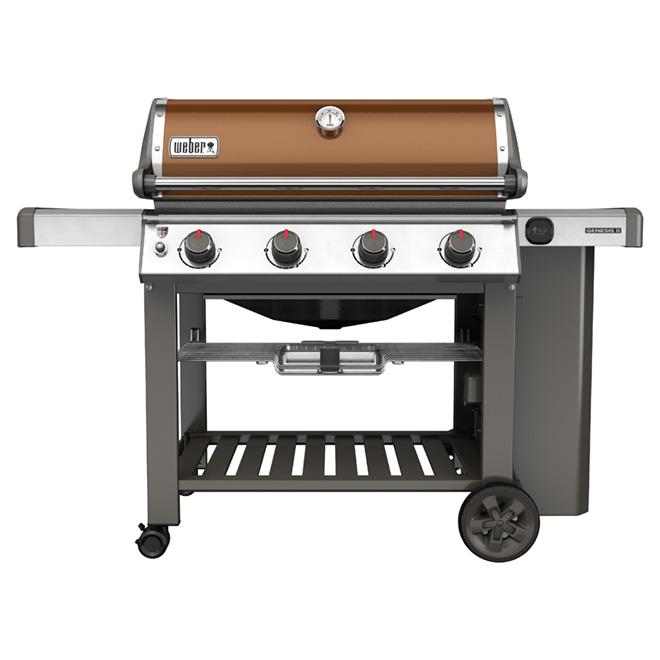 Propane BBQ - Genesis II E410 - 48000 BTU - 844 sq.in