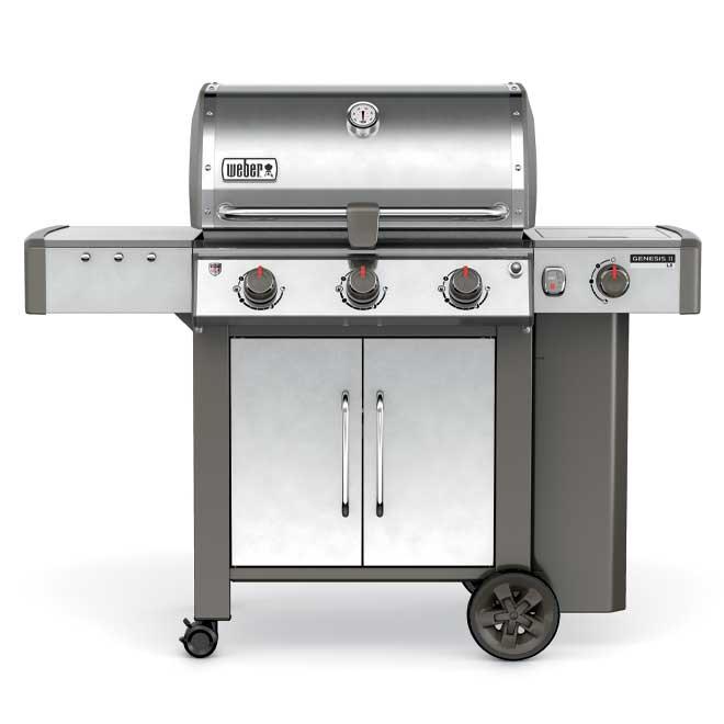 Propane BBQ - Genesis II LX S340 - 55,500 BTU - 669 sq. in