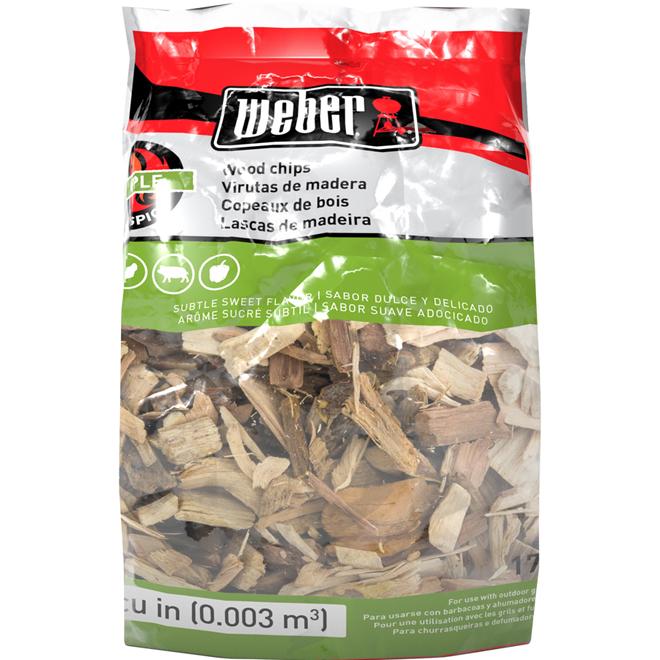 Apple Wood Chips - 2 lbs