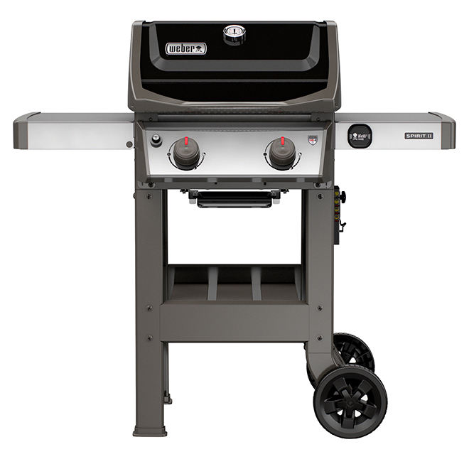 Barbecue au gaz propane liquide Weber Spirit II E210, noir