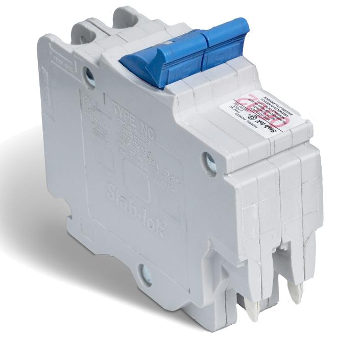 15-A 2P (NC) Circuit Breaker