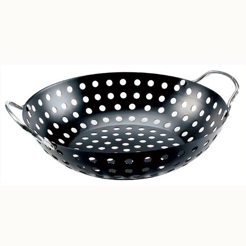 "Barbecue Wok Topper - 11"" - Black"