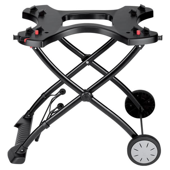 Chariot portatif Weber Q(MD), noir